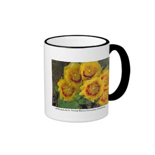 Mug / Prickley Pear Cactus in Bloom