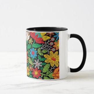 Mug Prints Embroidered