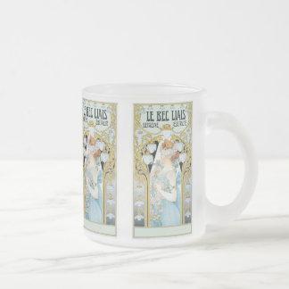 Mug: Privat-Livemont - Art Nouveau - Le bec Liais