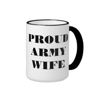 Mug Proud Army Wife