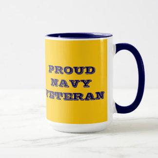 Mug Proud Navy Veteran