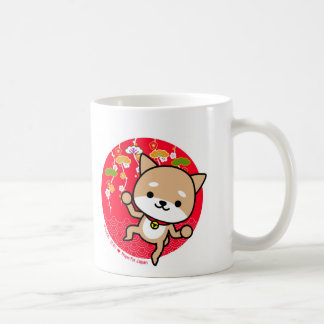 Mug - Puppy - Japanese Red
