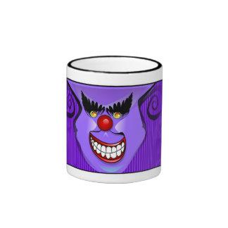 Mug - Purple Scary Face