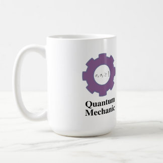 mug, quantum mechanic, infinite square well classic white coffee mug