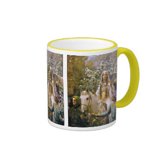 Mug:  Queen Guinevere Ringer Coffee Mug