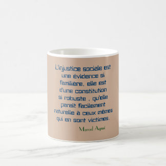 mug quotation social injustice