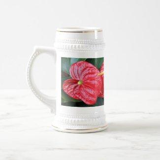 MUG - Red Anthurium zazzle_mug