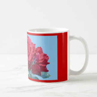 Mug, Red Rose # 244 Coffee Mug