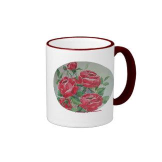 Mug Red Roses