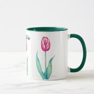 Mug, Red Tulips Mug