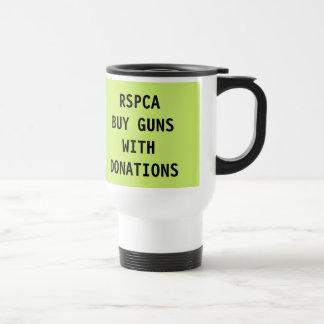 Mug RSPCA Buy Guns With Donations