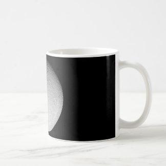 Mug: Saturn's moon Rhea Classic White Coffee Mug