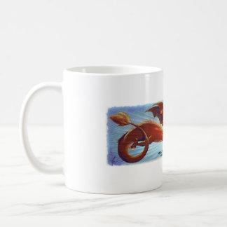 Mug Scorfel - dragón rojo Tazas