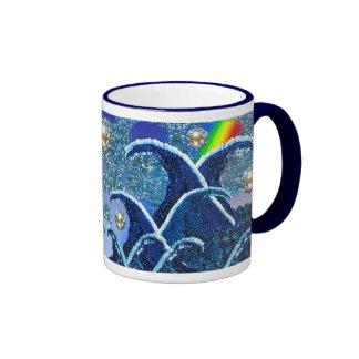Mug | Sequin Waves | Mixed Media Artwork