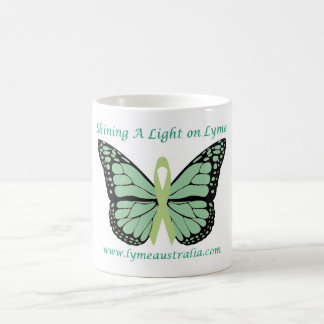 Mug: Shining A Light On Lyme Classic White Coffee Mug