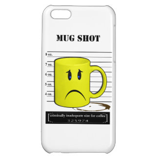 Mug Shot Coffee Mug Cup Cartoon Meme iPhone 5C Case
