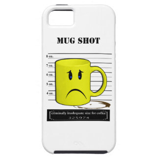 Mug Shot Coffee Mug Cup Cartoon Meme iPhone SE/5/5s Case