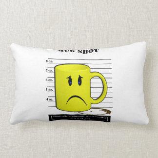 Mug Shot Coffee Mug Cup Cartoon Meme Pillow