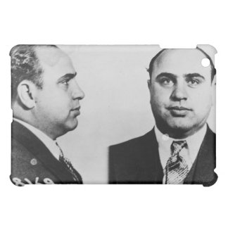 Mug Shot of Chicago Gangster Alphonse Capone 1931 Cover For The iPad Mini
