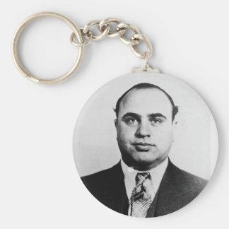 Mug Shot of Chicago Gangster Alphonse Capone 1931 Keychain