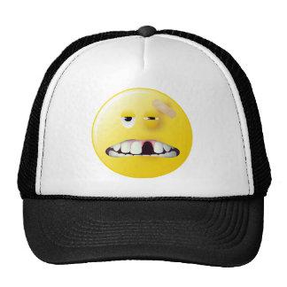 Mug Shot Smiley Face Hat