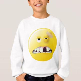 Mug Shot Smiley Face Sweatshirt