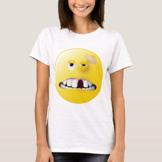 Mug Shot Smiley Face T-Shirt