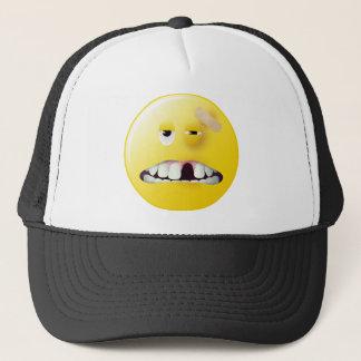 Mug Shot Smiley Face Trucker Hat