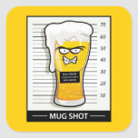 Mug Shot Sticker