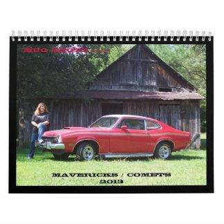 Mug Shots 2013 Calendar
