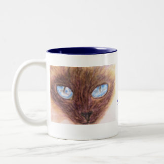 Mug, Siamese Cat