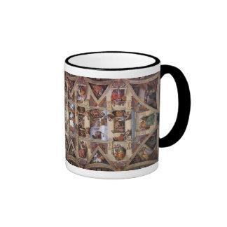 mug,Sistine Chapel,fresco Ringer Mug
