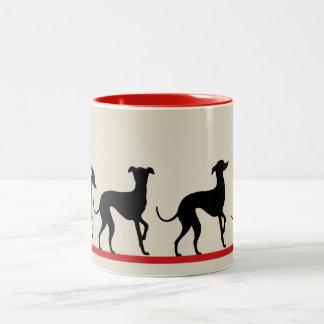 Mug Small Italian greyhounds