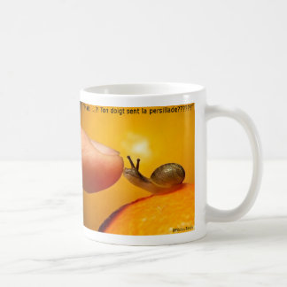 "Mug ""Snail and chopped parsley """