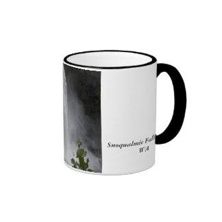 Mug:  Snoqualmie Falls Ringer Mug