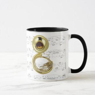 Mug - Sousaphone with sheet music