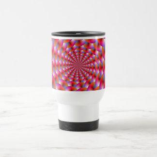 Mug  Spiral of Spheres in Pink and Violet