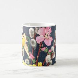 MUG - SPRING FLOWERS FLORAL DESIGN - CUSTOMIZABLE