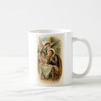 Mug: St. Joseph Nativity Classic White Coffee Mug