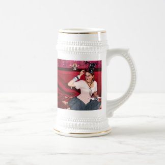 mug steampunk rave red burgundy birthday