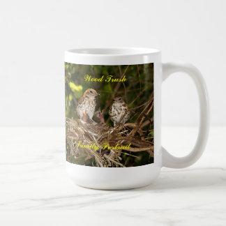 Mug/Stien, baby birds & parents Coffee Mug