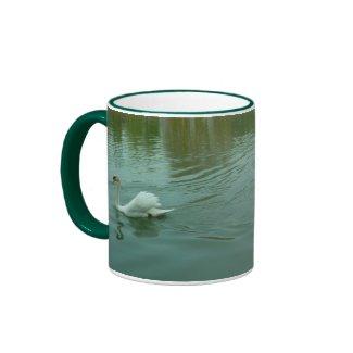 MUG - Swans on the Saone River France mug