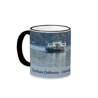 Mug: Tahlequah Ferry Ringer Coffee Mug