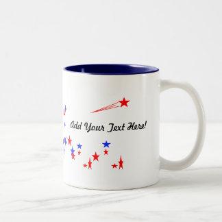 Mug, Template, Add your message Two-Tone Coffee Mug