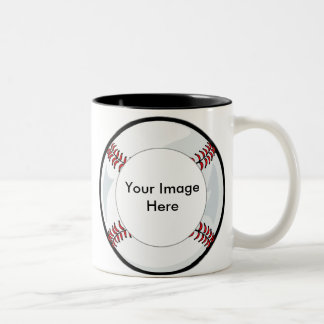 Mug Template - Baseball