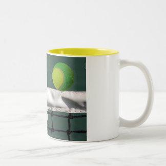 Mug - Tennis Ball under the let