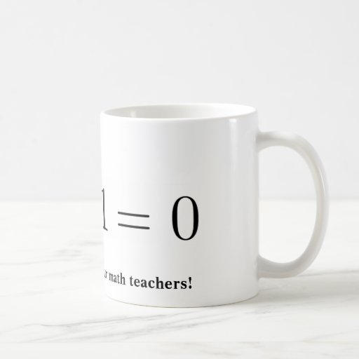 Mug: Thank your math teacher