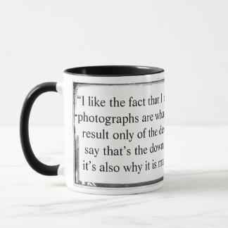 Mug That is the downside of photography Dworzak