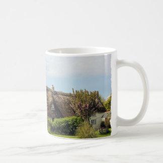 MUG - Thatched cottage Cornwall UK