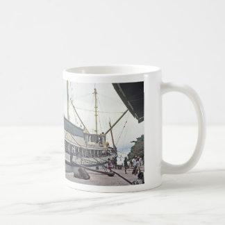Mug, The Dock, Huahine,French Polynesia Coffee Mug